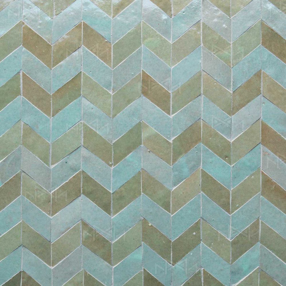 Mosaics-tiles — Moroccan zellige tiles collection urban