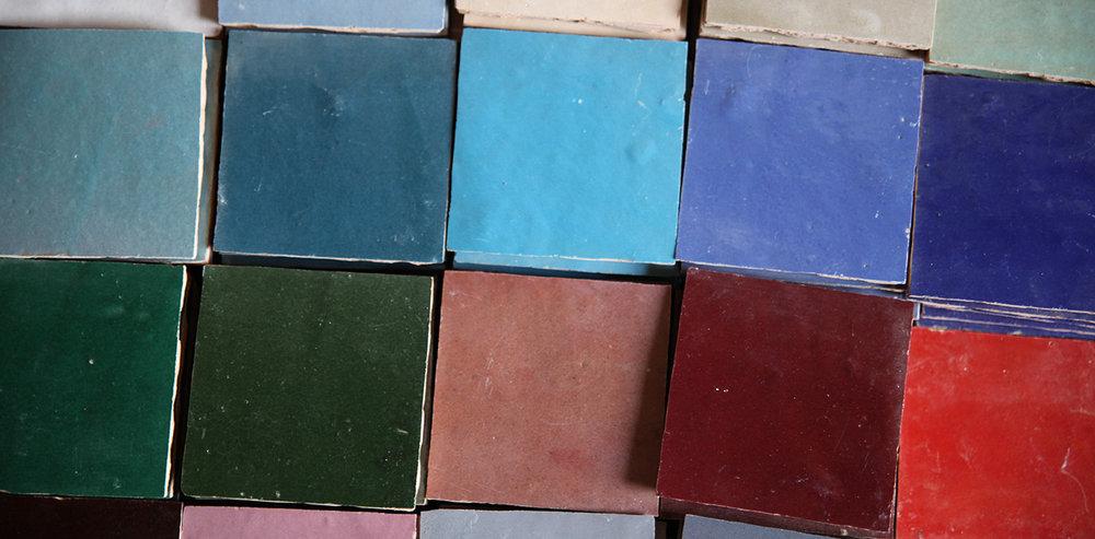 Zellige loose tiles