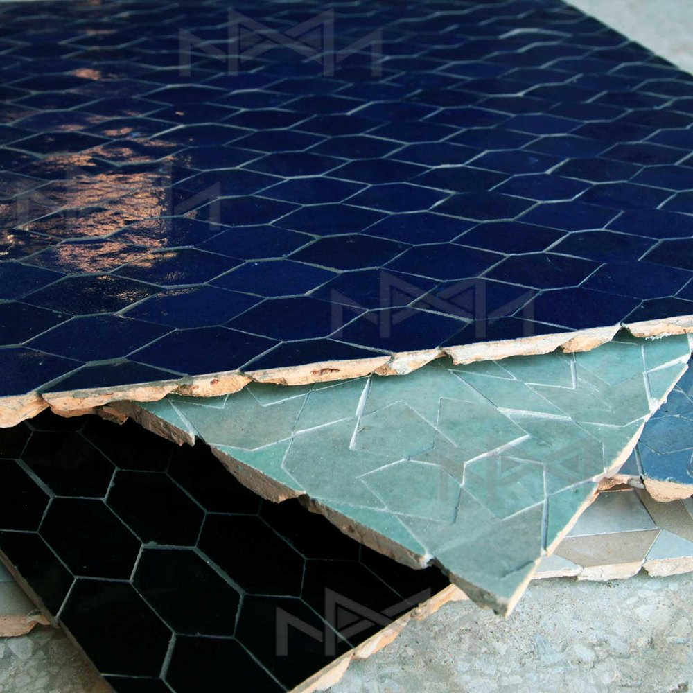 our moroccan zellige tiles collections