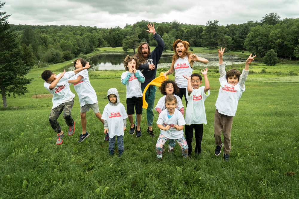 Past Camps - Last summer we partnered with The Assemblage to bring you a series of experiences for kids & families at their beautiful Sanctuary in Upstate NY. We came together for 3 weekends of camping under the stars, adventures in the wilderness, mindful movement, s'mores and more.