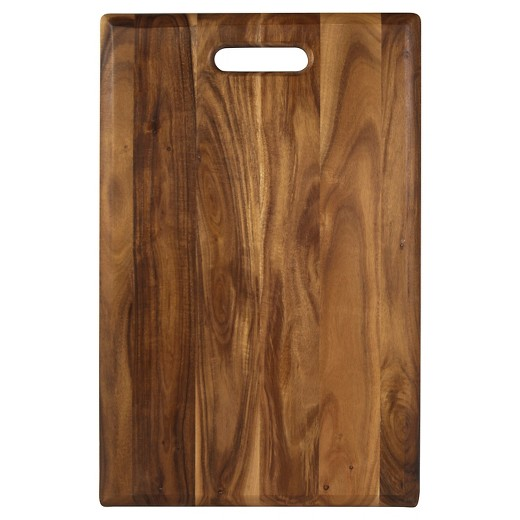 Wooden Cutting Board! - I love cutting vegetables on a wooden cutting board! I find it to be easier than a plastic cutting board. Also, they are very easy to clean!Reminder: do not cut raw meat on these!