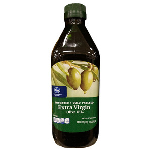 Olive Oil! - This one may seem silly to mention, but extra virgin olive oil is so functional. I always have an extra jug laying around. It makes cooking potatoes, creating dressings, and sauteing vegetables so easy!