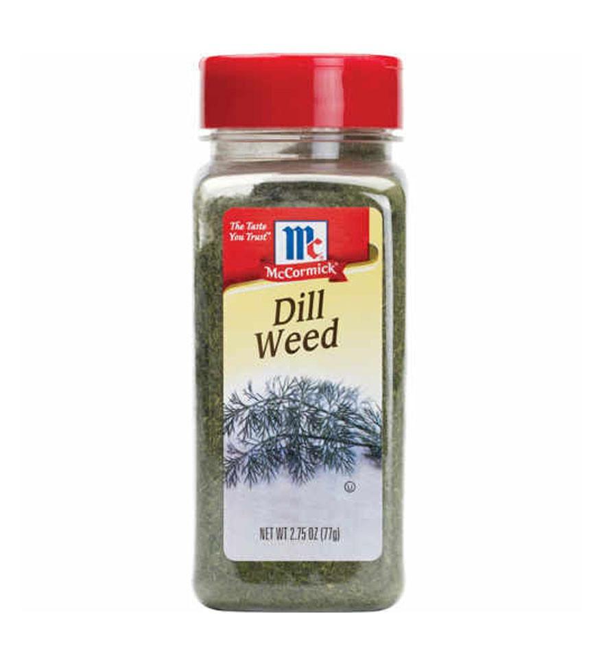 Dill Weed! - Dill weed may be a spice some don't always think about, but I love it! Dill is great for giving you that