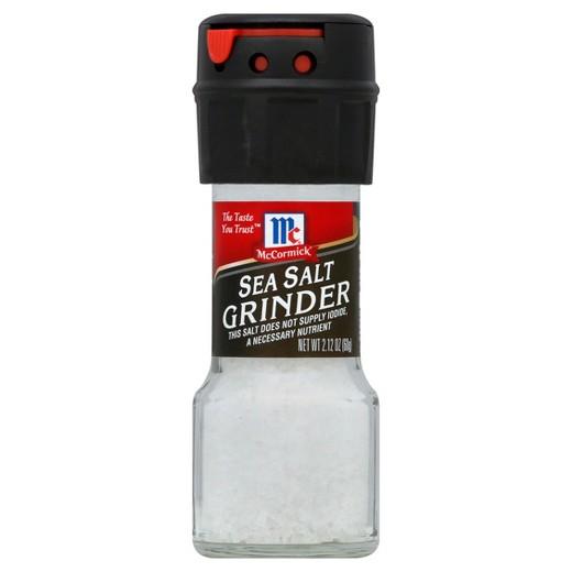 Sea Salt! - Sea salt is one of my favorites! I love adding sea salt to my veggies, dressings and sauces, and different types of meat! Sea salt makes any dish feel lavish!