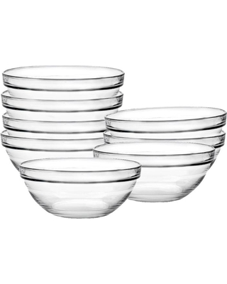 Glass Condiment Bowls! - I love having these handy in the kitchen! They are perfect for portioning out the ingredients you will need for your recipe! Like melting butter or mixing your spices!