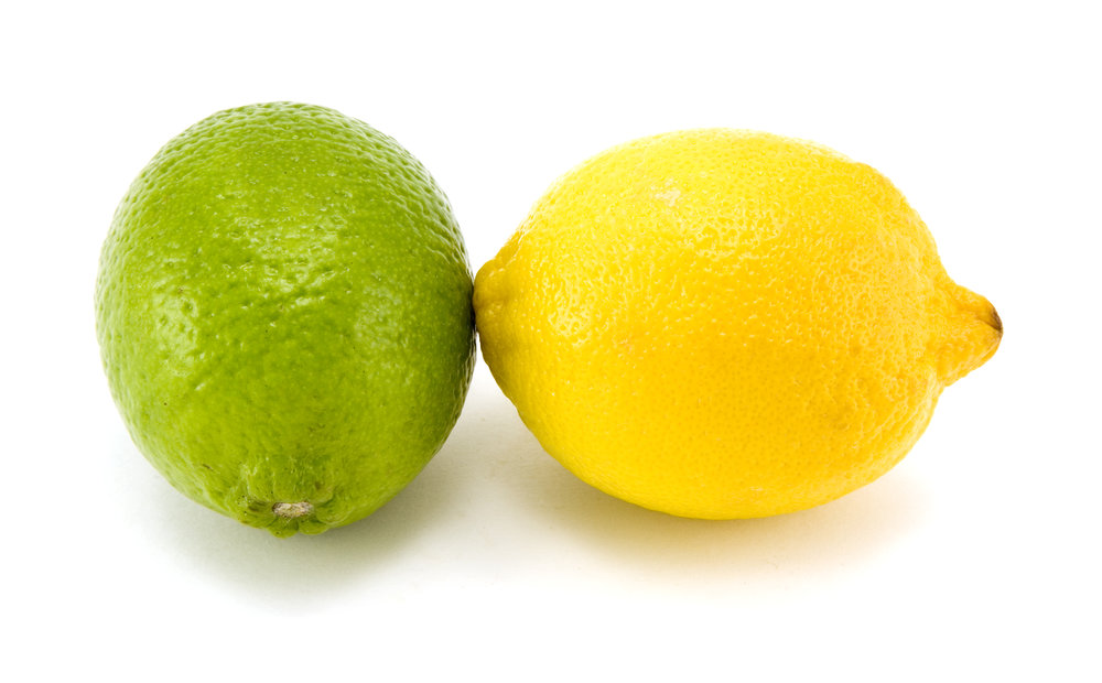 Lemon and Limes! - I always have some spare lemons and limes hanging around. Lemons are perfect compliment to fish and chicken dishes! Limes go great in soups, guacamole, and in margaritas!