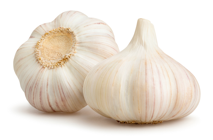 Garlic Cloves! - I always have some garlic cloves stored in my fridge! Almost every recipe I gravitate to has garlic! Go to the Tools I Love! page to see what I use to mince garlic in record time!