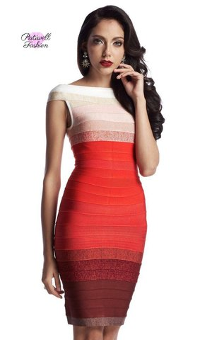 4d18d331bc98 Simple Chic Dinner Bandage Dress ...
