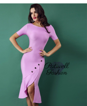3a1970a36c49 Pink Classic Party Girl Bandage Dress ...