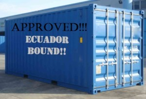 Container approved!