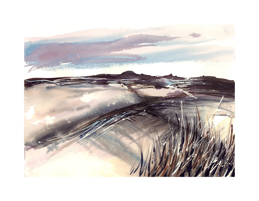 South Downs Sketch