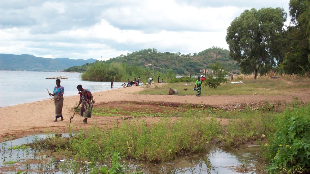 Lakeside scene, Niassa Province, Mozambique. Source: personal photo
