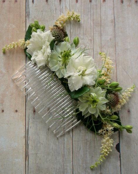 Fresh FlorallHair Comb - $28.00'ea