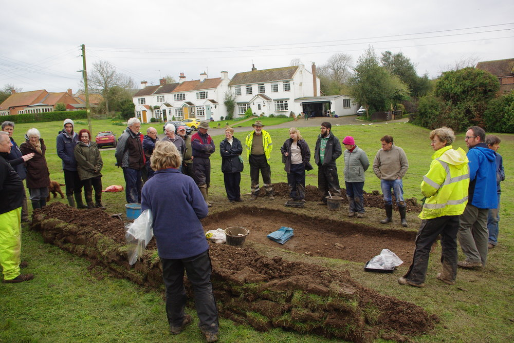 Community dig, Low Worsall