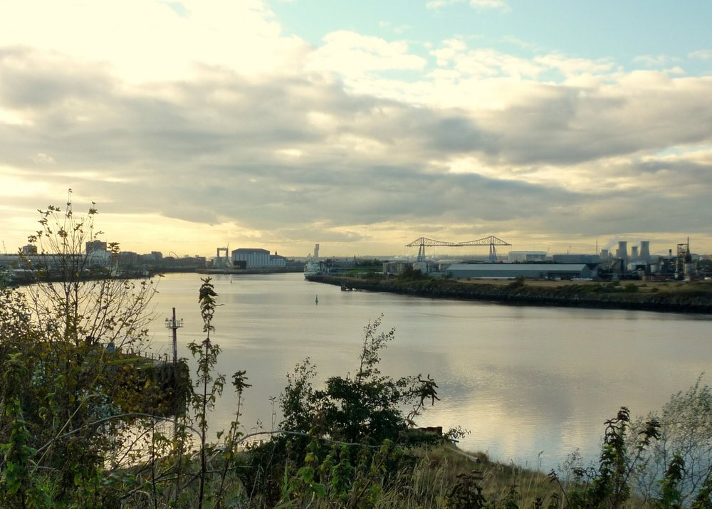 River Tees, South Bank