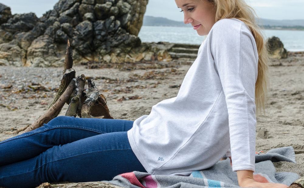 Chilling in grown.ie - tree planted for each t-shirt sold, 1% of all profits for environmental causes!