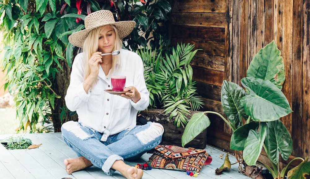 """I first came across Elle Bullen's book on holiday in Oz, plant based eating is miles ahead there and very much """"the norm"""""""