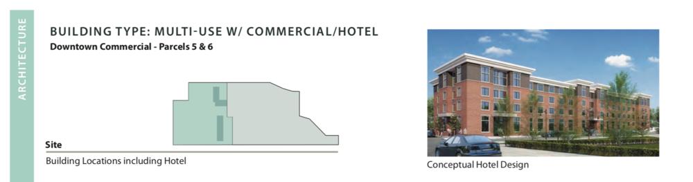 Conceptual designs of the hotel