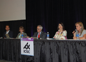 Driscoll, David Lobaugh and Colleen Conklin, with moderator Karen Fluharty.