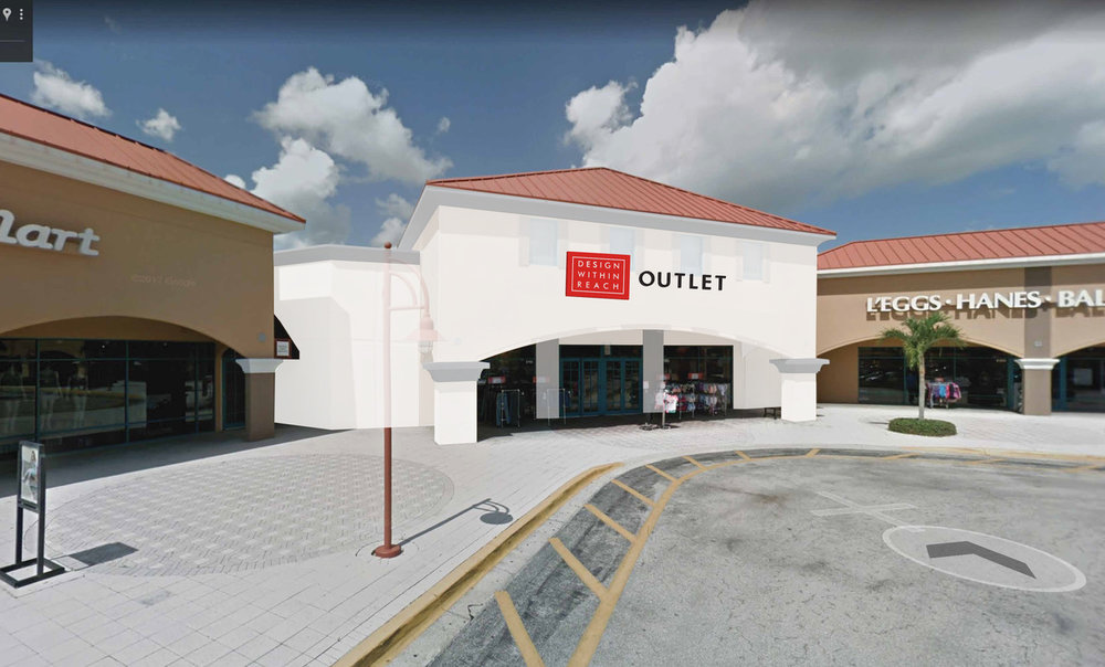 Vero Beach Outlets will welcome a more than 25,000 square foot Design Within Reach Outlet in early 2019