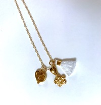 Closeup of The Angel Necklace