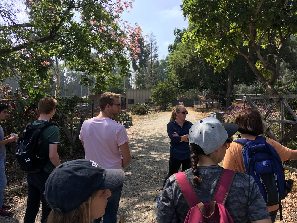 September 28, 2018: Field Lab Visit to Veterans' Garden