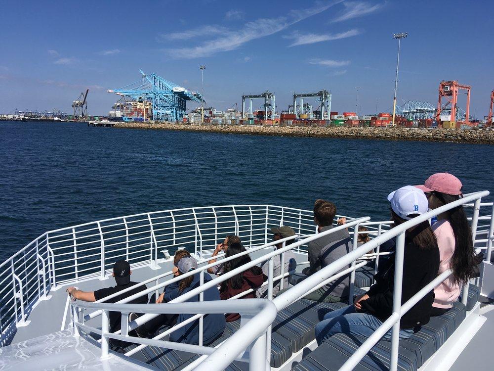 October 5, 2018: Field Lab Visit #2 to Port of LA