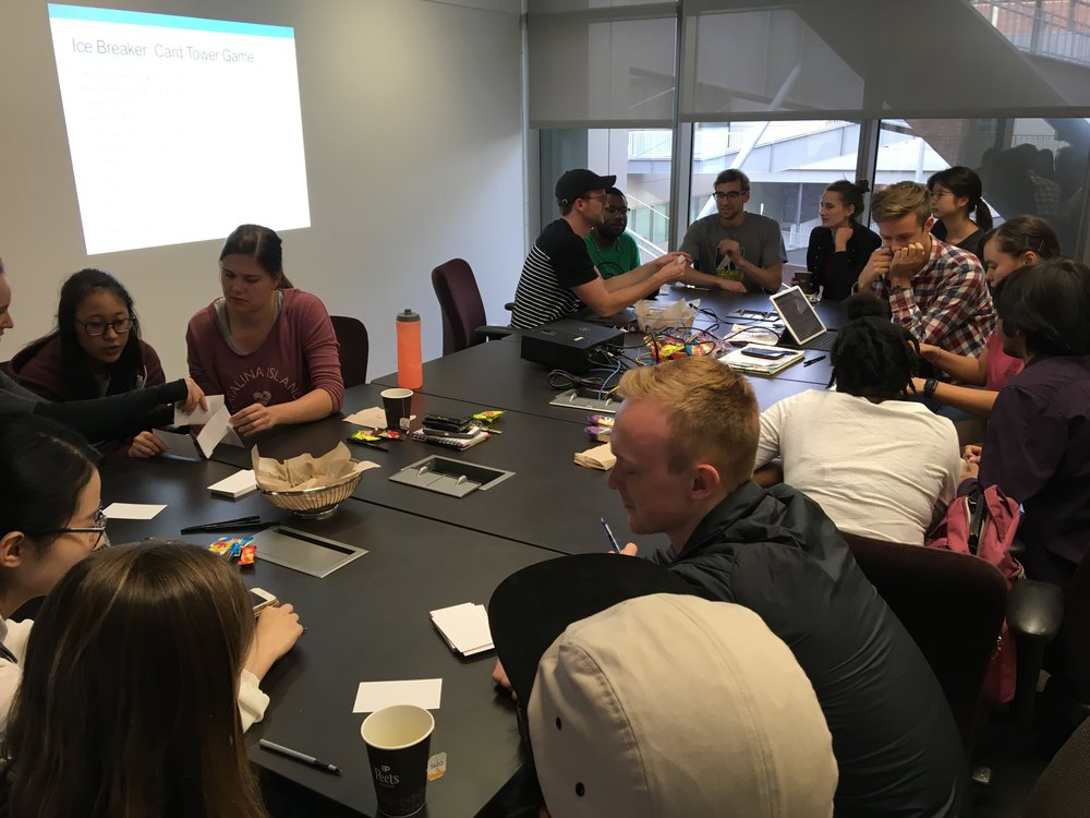 November 1, 2018: Team Science Training