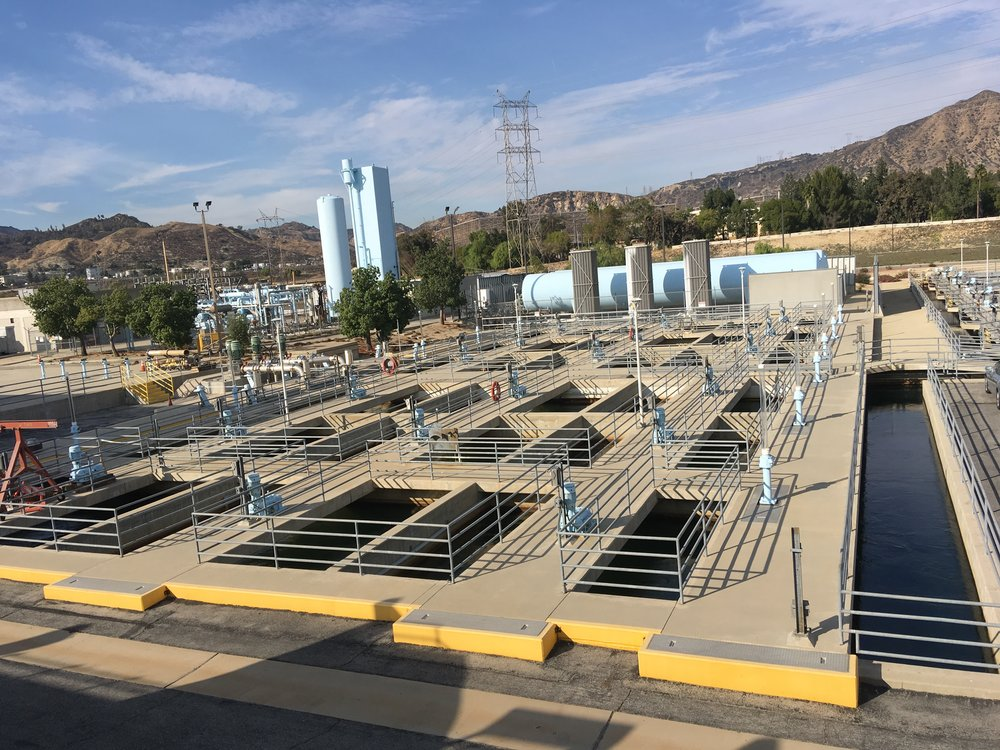November 16, 2018: Field lab site visit to LADWP Aqueduct Filtration Plant