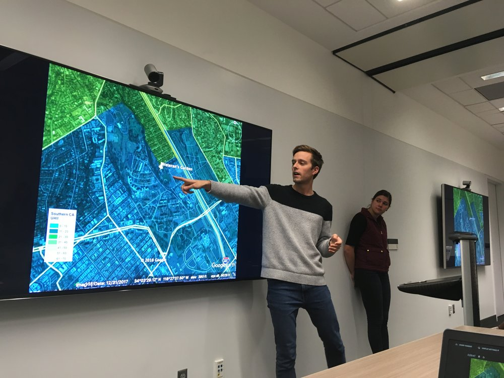 "November 30, 2018: Final Presentation for FEWS Field Lab ""VA Soil and Irrigation"" group project"
