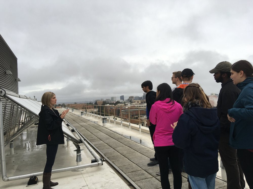 January 17, 2019: Fellows-organized sustainability tour of UCLA Dining on the Hill
