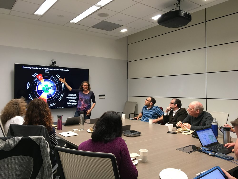January 24, 2019: INFEWS Faculty Meeting