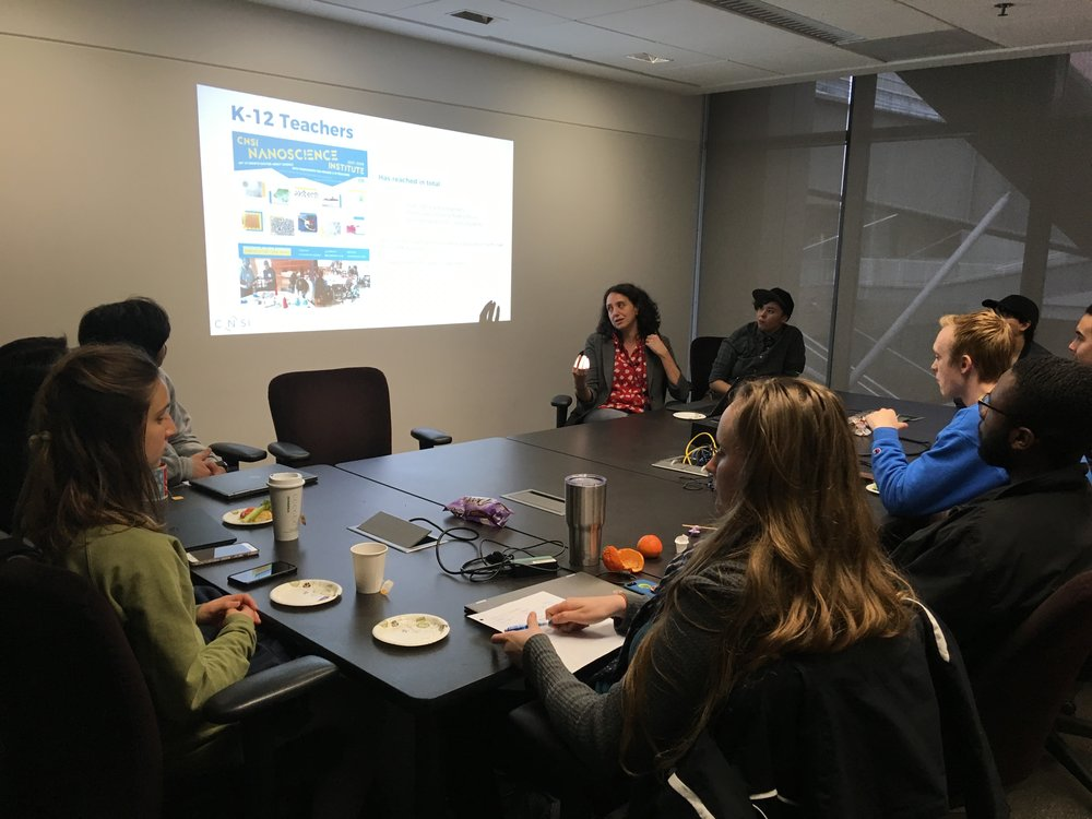 "February 14, 2019: Brown Bag Seminar on ""Education Outreach Opportunities"""