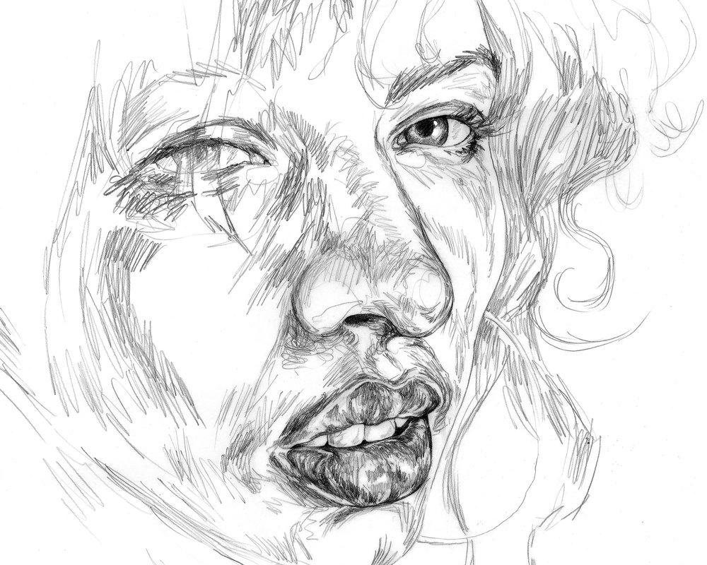 Nicole Ida Fossi drawing