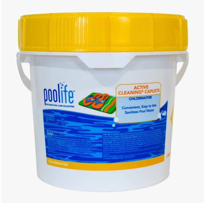 poolife® Active Cleaning® Granules Chlorinator  Fast acting  poolife® Active Cleaning® Granules chlorinator is effective at destroying bacteria, controlling algae and at destroying organic contaminants - keeping your pool clean and healthy. It can be used for daily maintenance or weekly shock treatment.