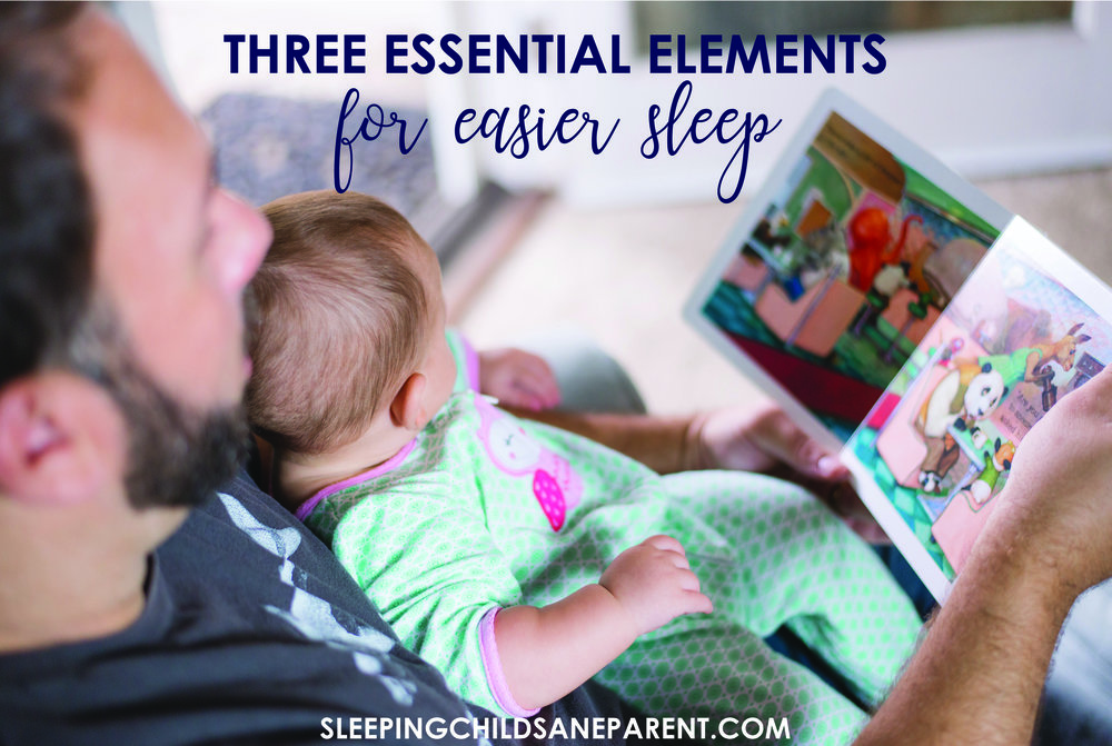 Darkness, white noise, and consistent routines are three essential elements you can implement TODAY to help facilitate easier sleep for your child. Make sure you're fully utilizing these helpful tools.