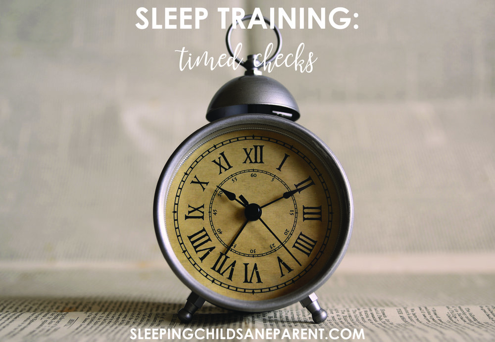 This sleep training method involves laying your baby down when it's time to sleep, leaving the room to allow her the opportunity to figure out how to fall asleep on her own, and returning at timed intervals to briefly reassure her if she's crying.