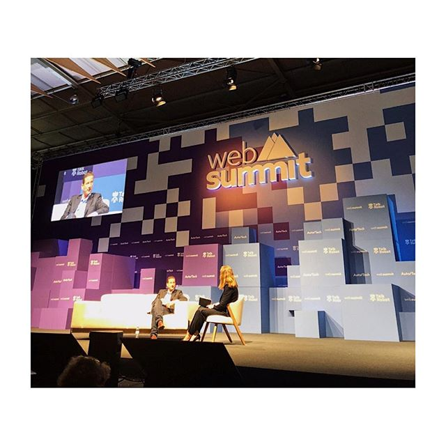 Excited to be at WebSummit this week with Remo Gerber, CCO of Lilium, introducing the personal, autonomous jet of our dreams.