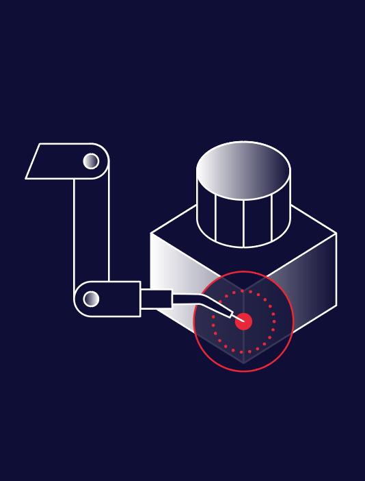 Step 4 - Robots welds part.