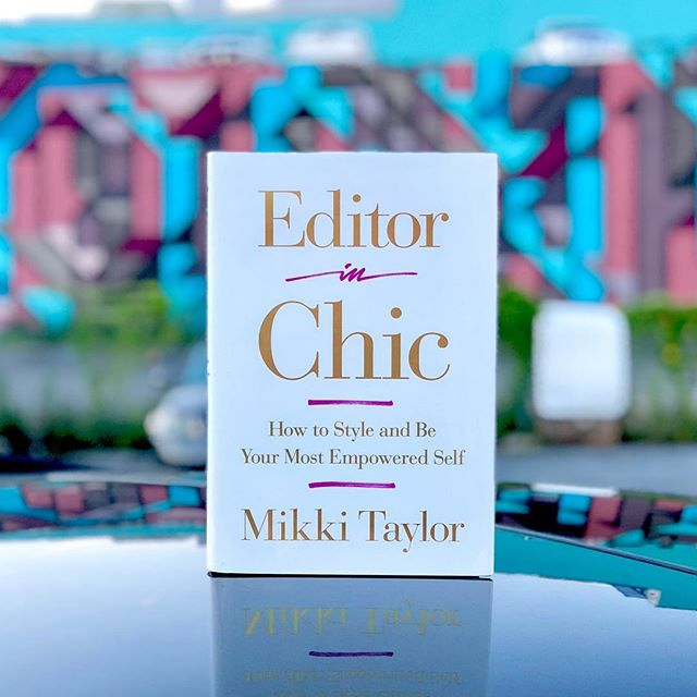 """Mikki is that girlfriend-in-the-know who you wish you could take everywhere you go—and now you can! Written in her signature, no-nonsense style, Editor in Chic delivers fabulous advice that will give you the confidence to be your best self every single day.  From dress code to life code, Mikki shares hundreds of her favorite secrets, including the five products you need to perfect your complexion; the genius ingredient for living comfortably in heels; how to define a bankable wardrobe, be frugal, and look fabulous; unexpected drugstore buys that will give your everyday look a wake-up call; rules for mastering eye-catching makeup and the perfect red lip; ruminations on the challenges of hair loss and effective solutions; what really has the power to motivate or defeat you; why being """"risk adverse"""" is to be """"success adverse""""; and much more. Whether you're standing in front of the mirror debating what to wear to a last-minute event or trying to hold your peace in the middle of a confrontation, Editor in Chic gives you the necessary tools to stay affirmed, informed, and inspired in all aspects of your life. - @mikkitaylor91 . . . . . #editorinchicthebook #bookstagram #booksofinstagram #bookphotography #vegansoulfood #bookstagrammer #bibliophile #bookworm #bookish #mikkitaylor #igreads #essencefest #booknerd #dinnerenblanc  #booksbooksbooks #readersofinstagram #books #bookstagramfeatures #bookaholic #essence #booklove #bookstagramfeature #vegansoulfest #instabook #afrotech #bookaddict #blackvegans #bookish #bookphoto #herpicsofficial"""