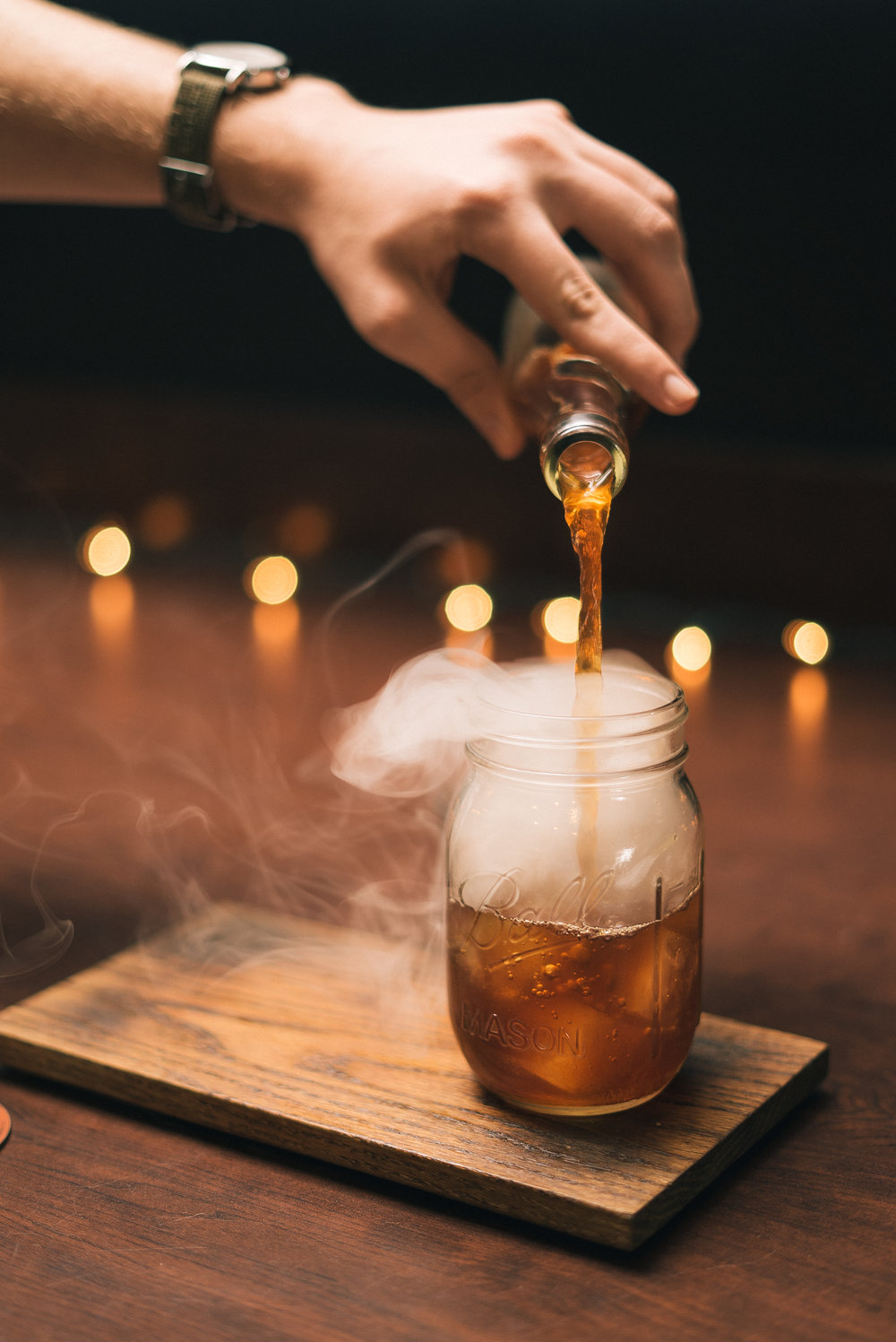 Barrel Smoked Sweet Iced Tea