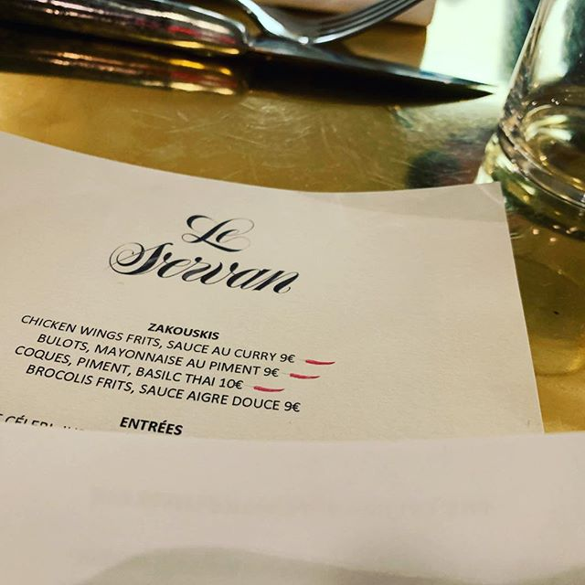 Finally written about my love affair with @restaurant_leservan. Please don't go too often, otherwise I won't be able to get a table. Link in bio.  #paris #france #food #foodie #bistro #asian #cuisine #leservan