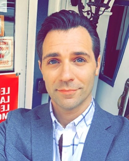 Nothing like a haircut. . . . #selfie #haircut #grooming #nyc #instagay #springtime