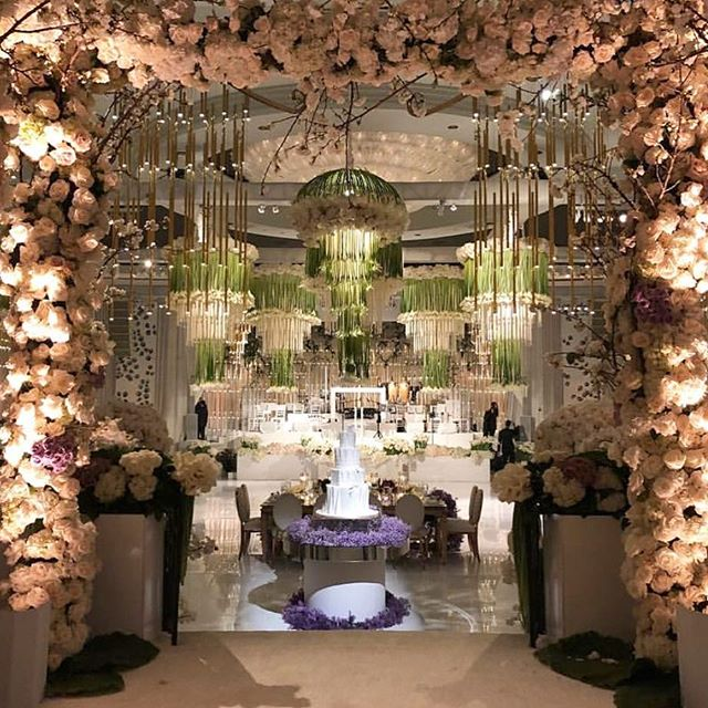 A sneak peek into last night's ballroom. The most perfect evening thanks to an incredible team of vendors 💕 (Venue: @beverlywilshire @markinweho | Planning: @internationaleventco @christyneo3 | Floral Design: @marksgarden @michael_marksgarden | Décor: @revelryeventdesign @matiasdoorn | Lighting: @mjlightingdecor | Band/Dj/Orchestra: @liventgroup | Photo: @walker.studios | Video: @hoo_films | Rentals: @tacer_losangeles @brighteventrentals | Linens: @luxe_linen | Cake: @jandlcakes | Wedding Dresser: @asitbridal)