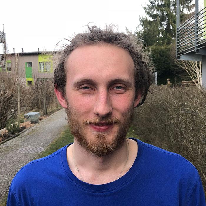 Jonas Müller, Auszubildender, Fachmann Betreuung