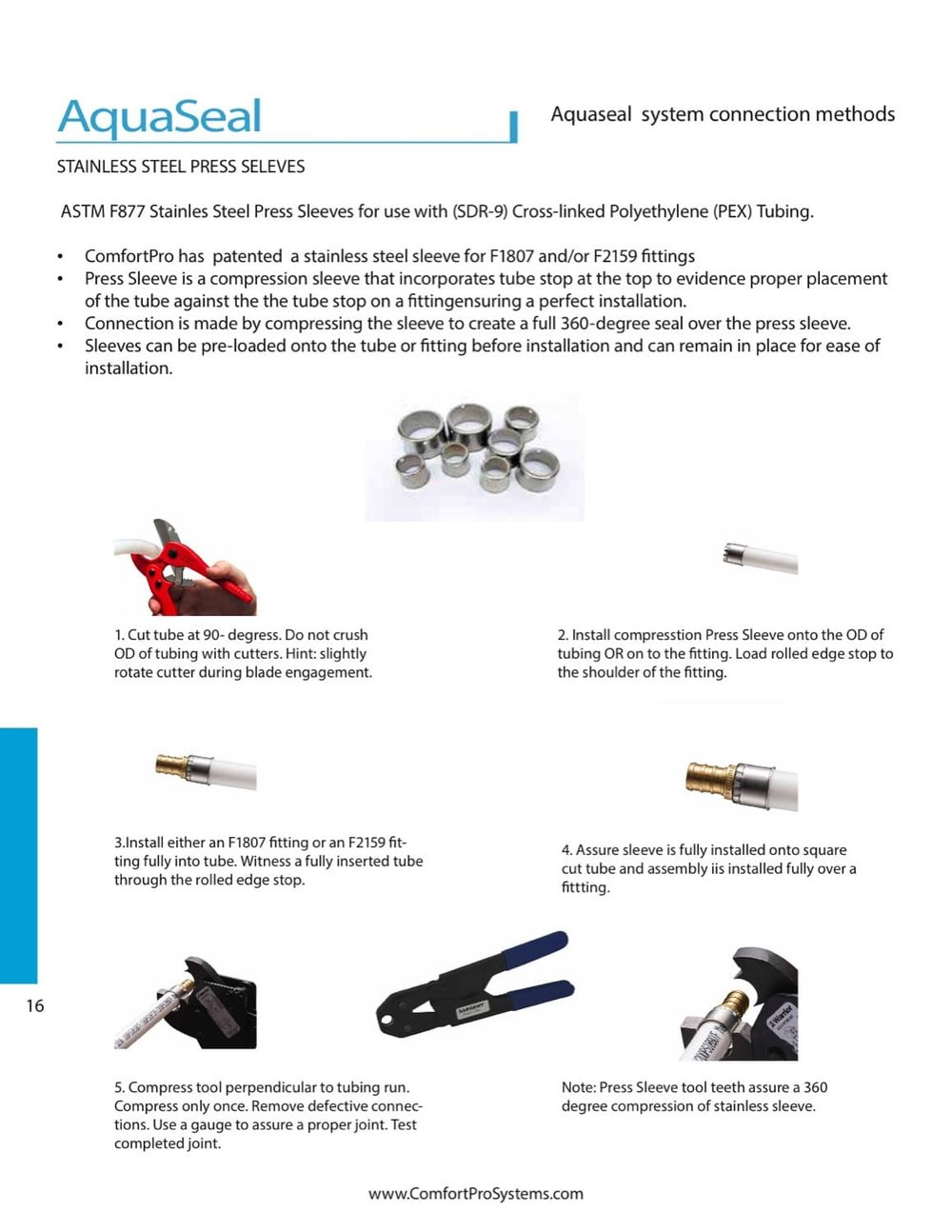 PDF Installations — Comfortpro Systems