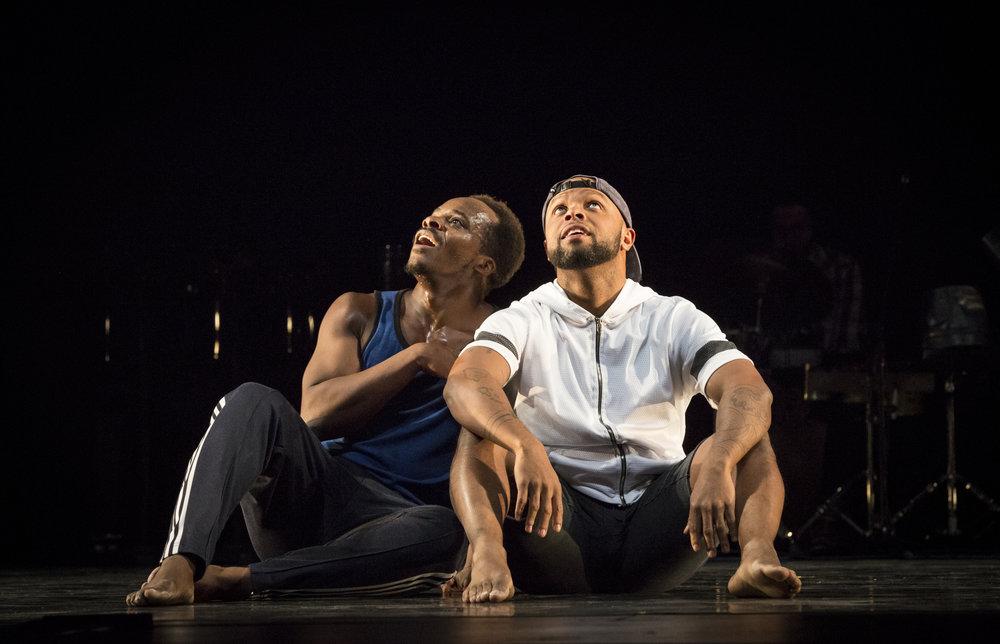 Maleek Washington & Timothy Edwards - Photo #1 by Marina Levitskaya - Peak Performances at Montclair State University - ink.jpg