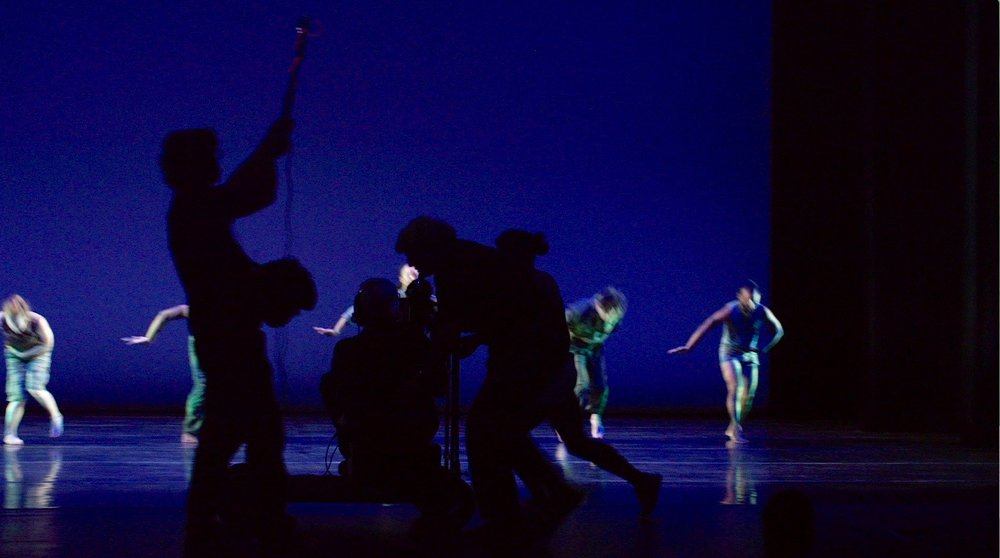 Filming D-Man at Purchase College Performing Arts Center 2015 4.jpg