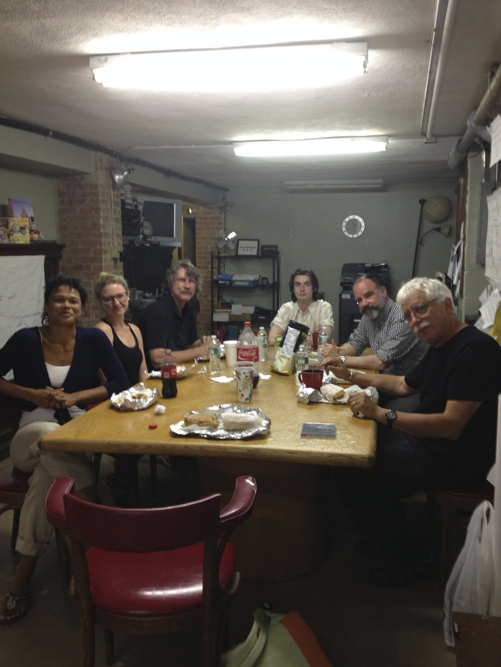D-Man Crew at lunch break 2014.jpg