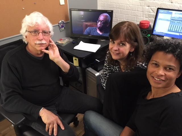 Tom Ann Roz in editing room.JPG
